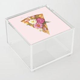 FLORAL PIZZA Acrylic Box
