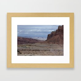 Spotted Wolf Canyon Framed Art Print