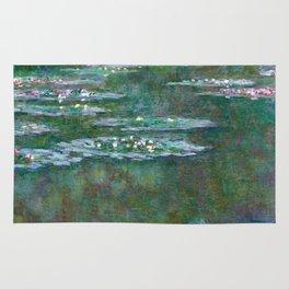 Water Lilies Claude Monet 1904 Rug