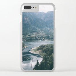 Columbia River Gorge IV Clear iPhone Case