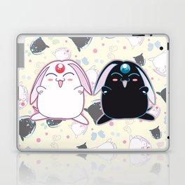 Black & White Mokona Laptop & iPad Skin