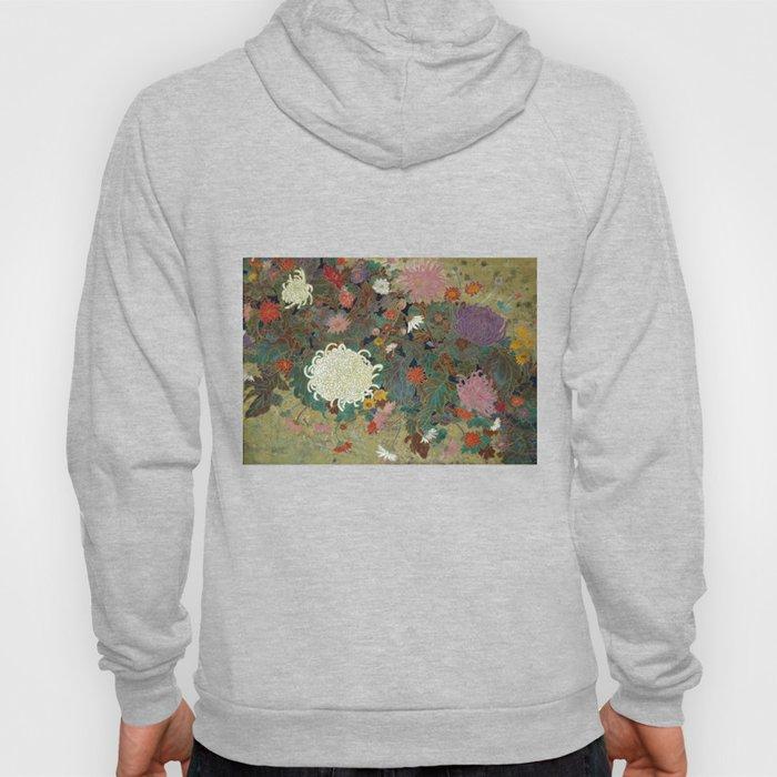 flower【Japanese painting】 Hoody