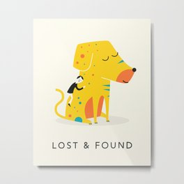 LOST AND FOUND (2) Metal Print