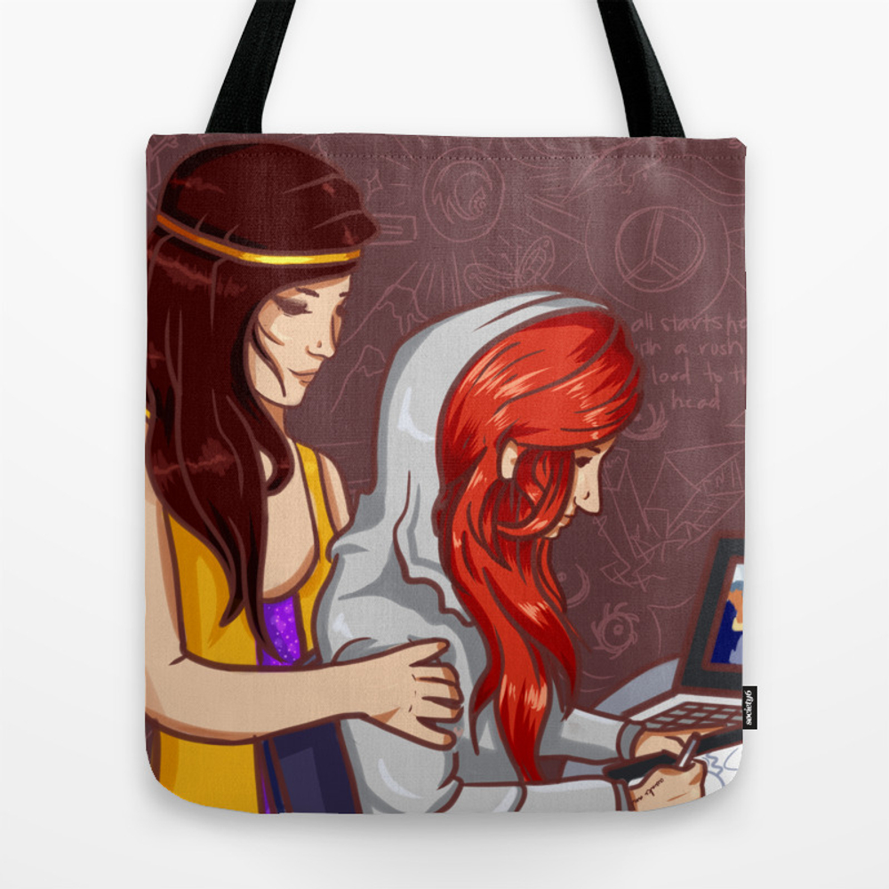 Lights Nostalgia Tote Bag by Drivemysoul TBG8874871