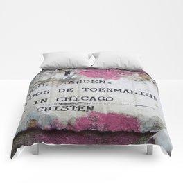 Urban poetry Comforters