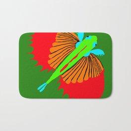 The Spectacular Flying Fish Bath Mat