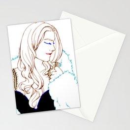 Fur Boudoir Stationery Cards