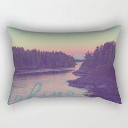 Tofino evening Rectangular Pillow