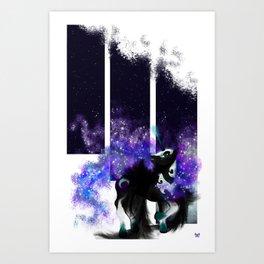 Nightmare Moon Art Print