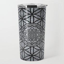 Sacred Unity - Sacred Geometry Travel Mug