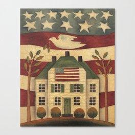 Where Freedom Dwells Canvas Print