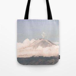 Breathe on high Tote Bag