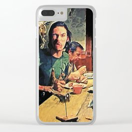 The Dinner Scene Clear iPhone Case