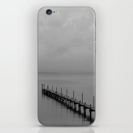 Misty Morning At The Lake iPhone Skin