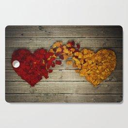 two hearts Cutting Board