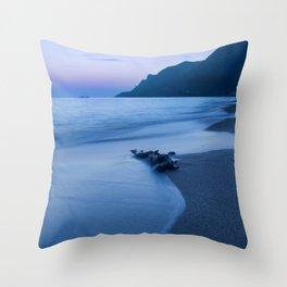 Sunset coast Throw Pillow