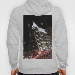 Sentinel Building at Night Hoody