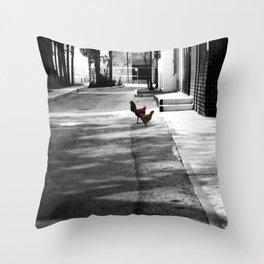 Urban Dwellers Throw Pillow