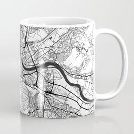 Basel Map Gray Coffee Mug