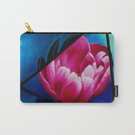 Punk Peony Carry-All Pouch
