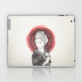 Japanese flag and Geisha Laptop & iPad Skin