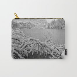 Wintry Lake Bohinj Carry-All Pouch