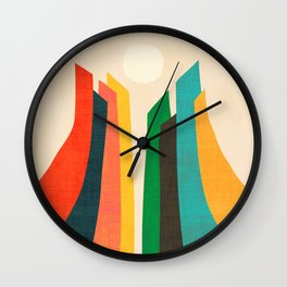 Skyscraper Wall Clock