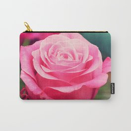 Elegant pink rose Carry-All Pouch
