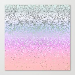 Glitter Star Dust G251 Canvas Print