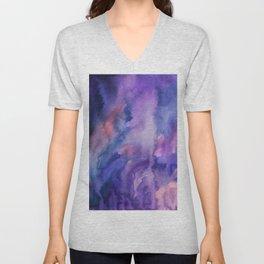 ON HOLD Watercolour Unisex V-Neck