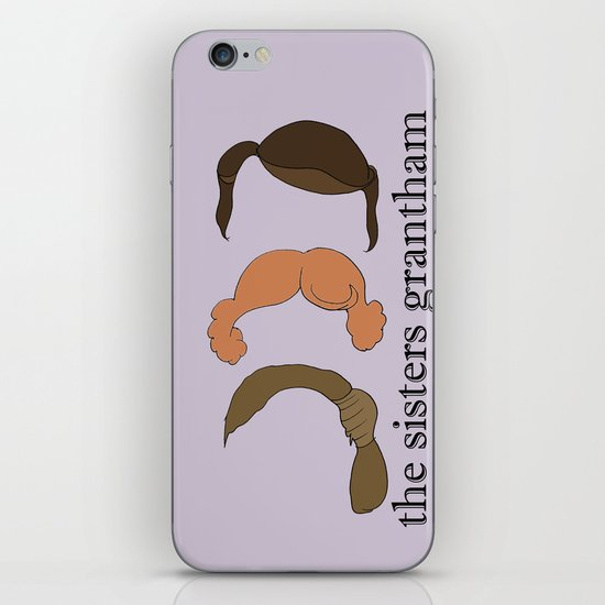 The Sisters Grantham: Downton Abbey iPhone & iPod Skin