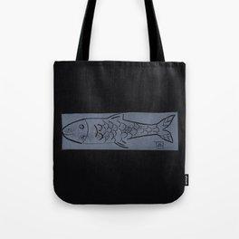 laying fish Tote Bag