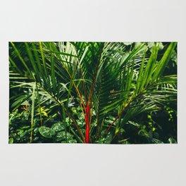 Lipstick Palm Jungle Rug