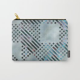 Abstract Geometric Labradorite on Mother of pearl Carry-All Pouch