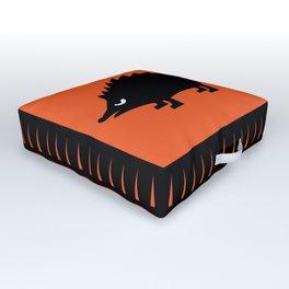 Angry Animals: hedgehog Outdoor Floor Cushion
