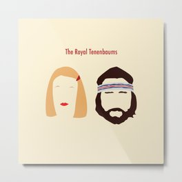 The Royal Tenenbaums, Margot, & Richie Metal Print