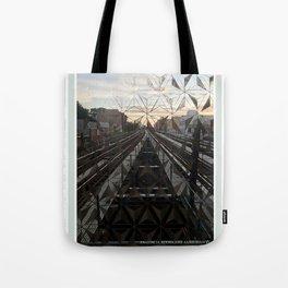 LIFE TRACKS Tote Bag