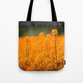 Orange Rapeseed Tote Bag