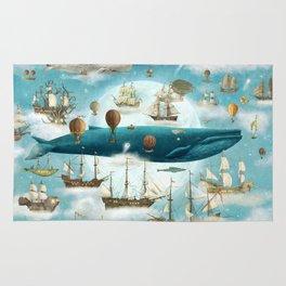 Ocean Meets Sky - book cover Rug