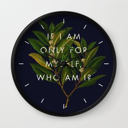 The Theory of Self-Actualization II Wall Clock