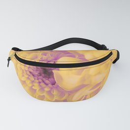 Yellow asters. Fanny Pack