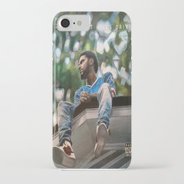 J.Cole 2014 Forest Hills Drive Drawing iPhone Case