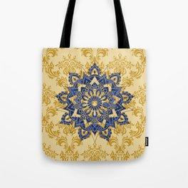 Mandala romantic blue Tote Bag