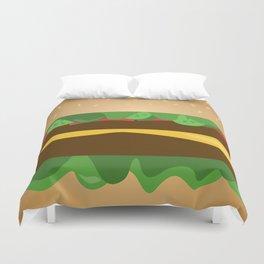 Cheeseburger Duvet Cover