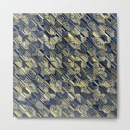 abstra shells Metal Print