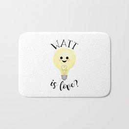 Watt Is Love? Bath Mat