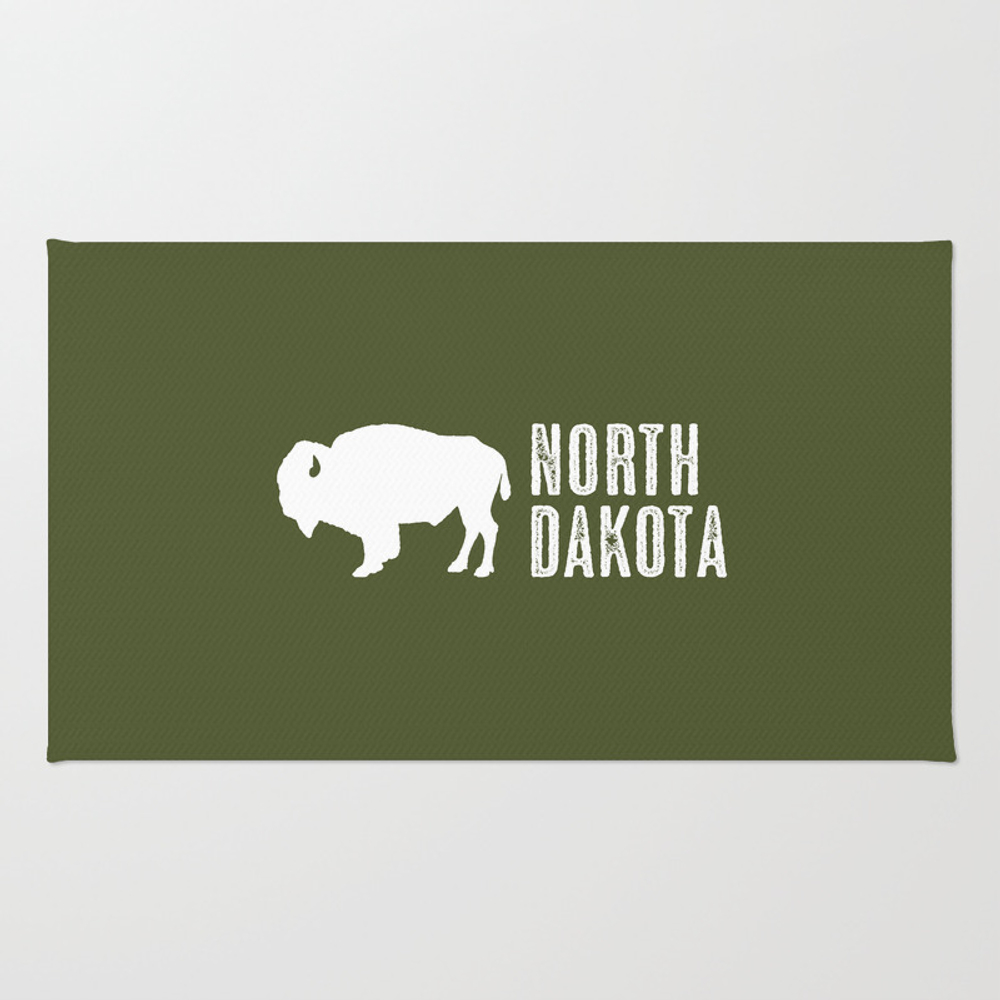 Bison: North Dakota Rug by Jsdavies RUG8988179