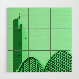 [INDEPENDENT] ASSUNA MOSQUE - JEAN FRANÇOIS ZEVACO Wood Wall Art