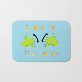 ASL Let's PLAY! Bath Mat