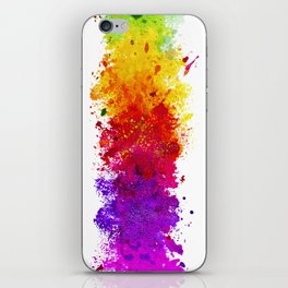 Color me blind iPhone Skin